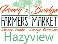 Perry's Bridge Farmers Market (last Saurday of every month)